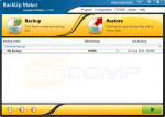The Backup Maker main screen.